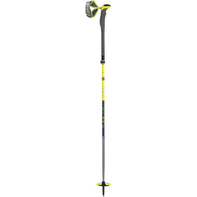 LEKI Guide Extreme V Bastones Ski Touring, blue/yellow/green/white